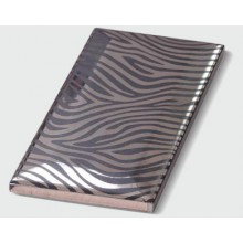"METRO коллекция, Decor Chrome ""Black Zebra"" 7,5 x 15 см"
